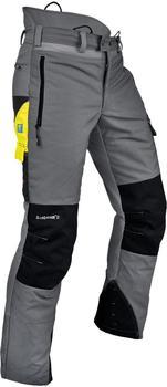 Pfanner Gladiator II Schnittschutzhose grau/schwarz
