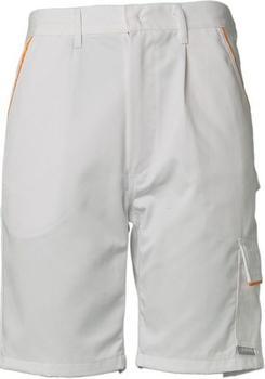 Planam Highline Shorts (2377) reinweiß/reinweiß/gelb