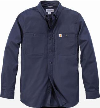 carhartt-rugged-professional-long-sleeve-work-shirt-navy-102538-412