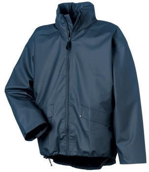 Helly Hansen Voss Waterproof PU Rain Jacket (70180) navy