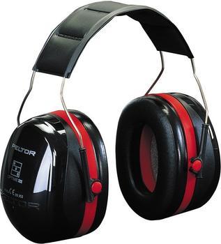 3M Peltor Optime III mit Kopfbügel schwarz-rot (H540A)