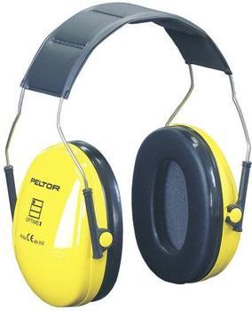 3M Peltor Optime I mit Kopfbügel, EN352-1 SNR=27 dB, gelb