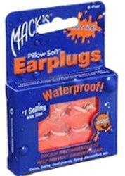 Aafi Trading Macks Earpluggs Hot orange (6 x 2 Stk.)