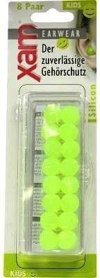 Cosvida Cosmetics Ohrschutz Xam Med. Silikon Kinder (16 Stk.)