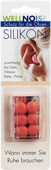Wellnoise Ohrenstopfen Silikon skin (3 x 2 Stk.)