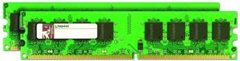 Kingston ValueRAM 2GB Kit DDR2 PC2-6400 (KVR800D2E5K2/2G) CL5
