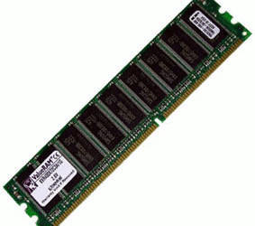 Kingston ValueRAM 1GB DDR PC3200 (KVR400D8R3A/1G) CL3