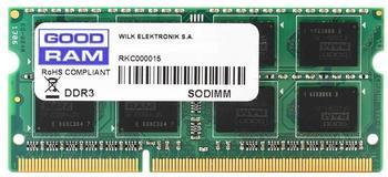 GoodRAM 4GB SODIMM DDR3-1600 CL11 (GR1600S3V64L11S/4G)