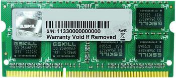 G.SKill 8GB SO-DIMM DDR3 PC3-12800 CL11 (F3-1600C11S-8GSL)