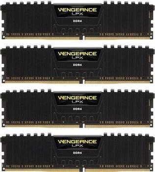 Corsair Vengeance LPX 64GB Kit DDR4 PC4-19200 CL16 (CMK64GX4M4A2400C16)
