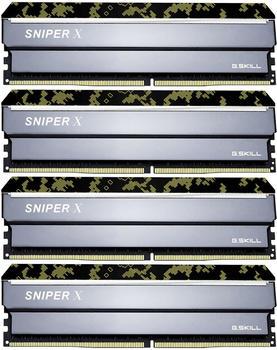 G.SKill SNIPER X 64GB Kit DDR4-2400 CL17 (F4-2400C17Q-64GSXK)