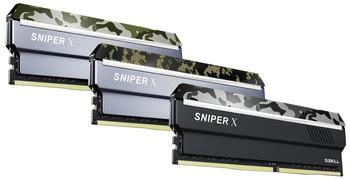 G.SKill Sniper X 64GB Kit DDR4-3000 CL16 (F4-3000C16Q-64GSXFB)