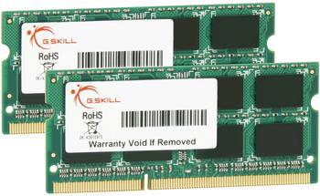 G.SKill SQ Series 8GB Kit DDR3 PC3-12800 CL9 (F3-12800CL9D-8GBSQ)