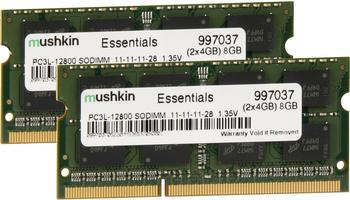 Mushkin Essentials 8GB Kit SO-DIMM DDR3 PC3-12800 CL11 (997037)