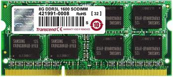 Transcend 8GB SO-DIMM DDR3 PC3L-12800 CL11 (TS1GSK64W6H)