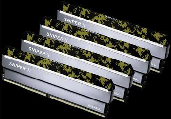 G.SKill SniperX 64GB Kit DDR4-3600 CL19 (F4-3600C19Q-64GSXKB)
