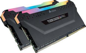 Corsair Vengeance RGB PRO 16GB DDR4 Kit, Arbeitsspeicher, Schwarz (CMW16GX4M2C3600C18)