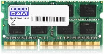 GoodRAM 4GB SODIMM DDR4-2400 CL17 (GR2400S464L17S/4G)