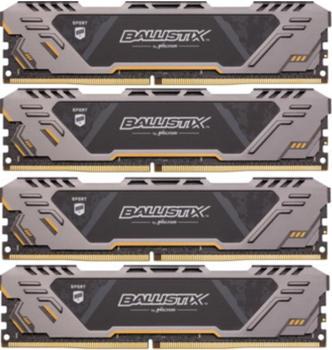 Ballistix TM Sport AT 32GB Kit DDR4-3000 CL17 (BLS4K8G4D30CESTK)