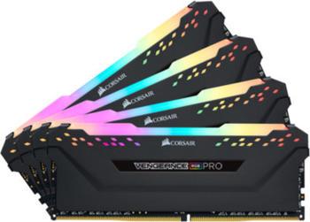 Corsair DDR4 32GB PC 3466 CL16 KIT (4x8GB) Vengeance RGB PRO DDR4-3466 RAM (16-18-18-36)
