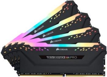 Corsair DDR4 32GB PC 2933 CL16 Kit (4x8GB) Vengeance RGB B (CMW32GX4M4Z2933C16)