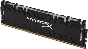Kingston DIMM 8 GB DDR4-3200, Arbeitsspeicher HX432C16PB3A/8, Predator RGB