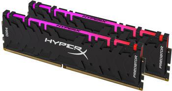 Kingston HyperX Predator RGB RAM 16GB (2x8GB) 4000MHz DDR4 CL19, schwarz, HX440C19PB3AK2/16,