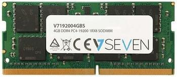 V7 4GB SODIMM DDR4-2400 CL17 (V7192004GBS)