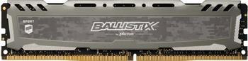 Ballistix Sport LT 8GB DDR4 3000 DIMM 288pin grey SR (BLS8G4D30BESBK)
