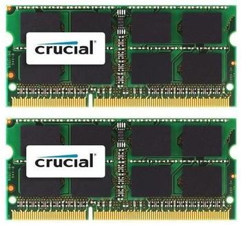 Crucial 16GB Kit SODIMM DDR3-1600 (CT2K8G3S160BM)