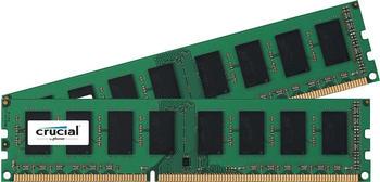 Crucial 8GB Kit DDR3 PC3-12800 non-ECC CL11 (CT2KIT51264BD160B)