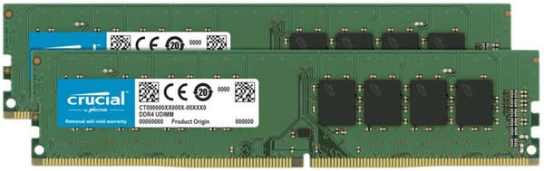 Crucial 64GB Kit DDR4-2666 CL19 (CT2K32G4DFD8266)
