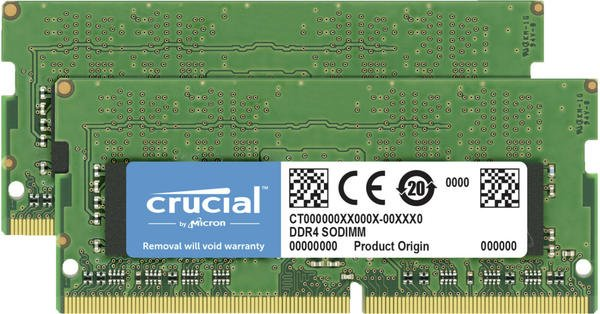 Crucial 8GB Kit DDR4-3200 CL22 (CT2K4G4SFS632A)