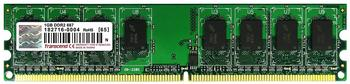 Transcend 1GB DDR2 PC2-5300 (TS1GCQ4300) CL5