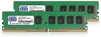 GoodRAM 8GB Kit DDR4-2400 CL17 (GR2400D464L17S/8GDC)