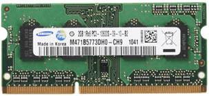 Samsung 2GB SO-DIMM DDR3 PC3-10600 CL9 (M471B5773DH0-CH9)