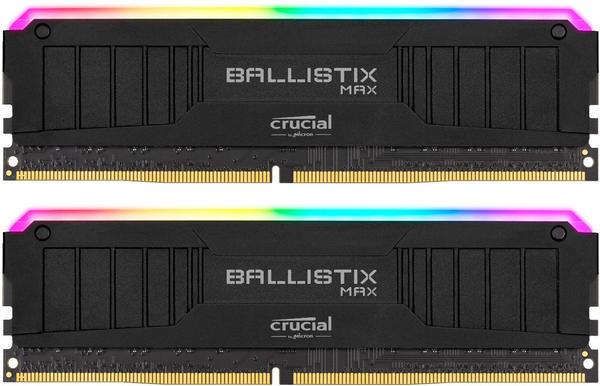 Ballistix TM Max RGB 32GB Kit DDR4-4000 CL18 (BLM2K16G40C18U4BL)