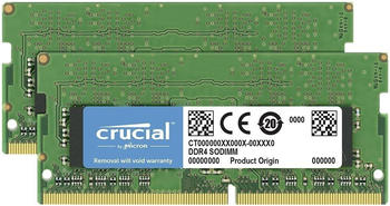 Crucial 16GB Kit SO-DIMM DDR4-2666 CL19 (CT2K8G4SFRA266)