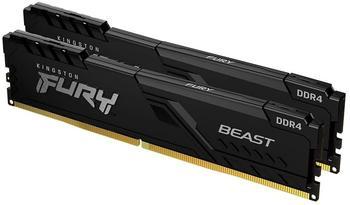 Kingston FURY Beast 16GB Dual-Kit DDR4-3200 CL16 (KF432C16BBK2/16)