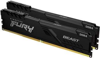 Kingston FURY Beast 32GB Dual-Kit DDR4-3733 CL19 (KF437C19BB1K2/32)
