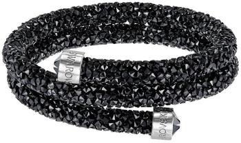 Swarovski Crystaldust Double M schwarz (5250023)
