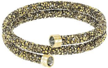 Swarovski Crystaldust Double Armreif gold S (5373047)