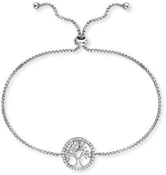 Engelsrufer Armband Lebensbaum Silber mit Zirkonia (ERB-LILTREE-ZI)