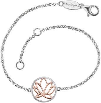 Engelsrufer Armband Lotus Silber Bicolor (ERB-LILLOTUS-BICOR)