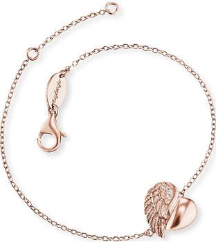 Engelsrufer Armband Herzflügel (ERB-LILHEARTWING) rosa