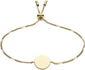 Fossil Disc Gold-Tone Stainless Steel Bracelet JF03020710
