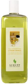 Schupp Sauna- und Dampfbadessenz Citrone Orange (1000 ml)