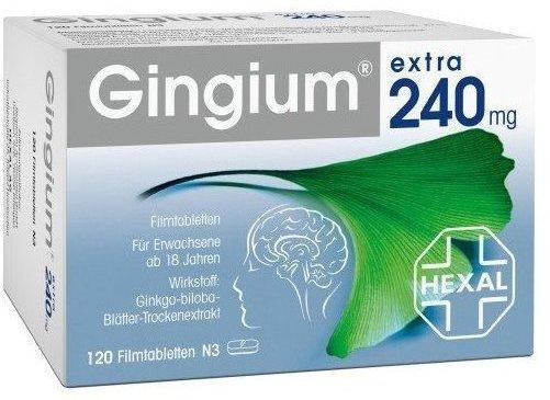 Hexal GINGIUM extra 240 mg Filmtabletten