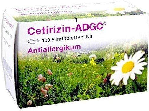 Cetirizin ADGC Filmtabletten (100 Stk.)