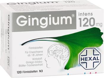 Gingium Intens 120 Tabletten (120 Stk.)